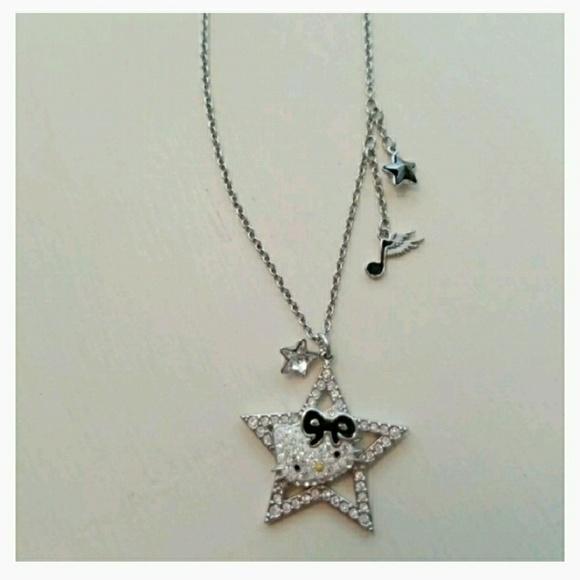 a3fccb23b Swarovski Hello Kitty Rock Star Necklace. M_5a6ee5565512fd4cd1edeca1